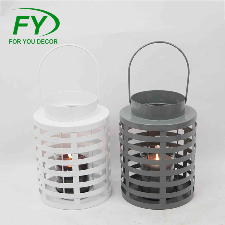 Ml-1679 Wholesale Moroccan Hanging Metal Candle Lanterns Wedding Favors