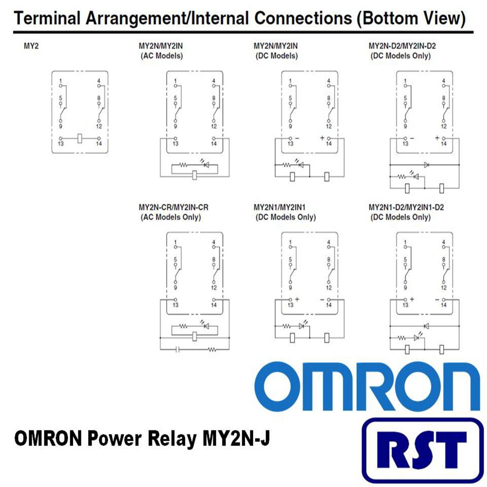 4 pole relays dust resistence MY4 GS taiwan 4 pin relay, taiwan 4 pin relay manufacturers and suppliers omron relay my4n wiring diagram at fashall.co
