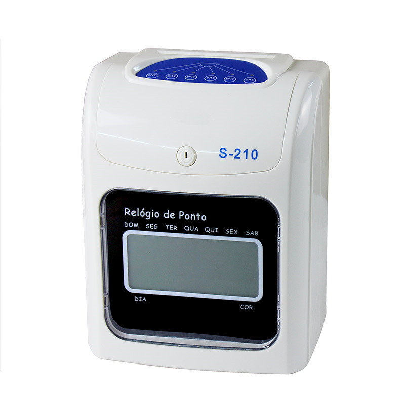 SF-S210 Time Paper Card Punching Attendant Clock