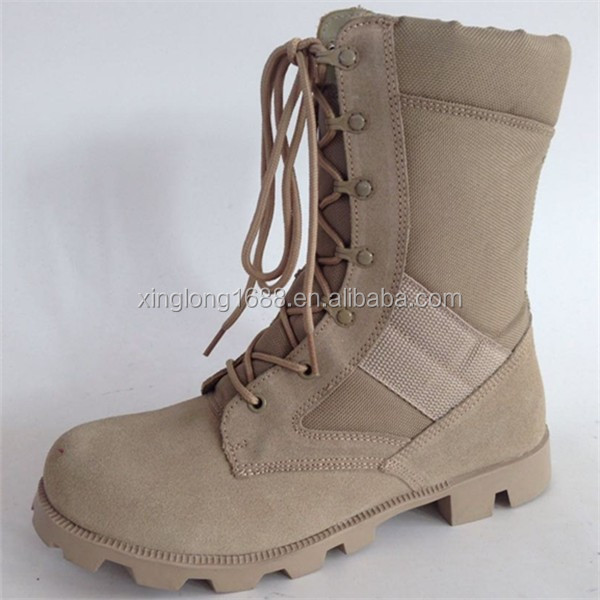 2016 good quality desert Altama combat boots for policeman