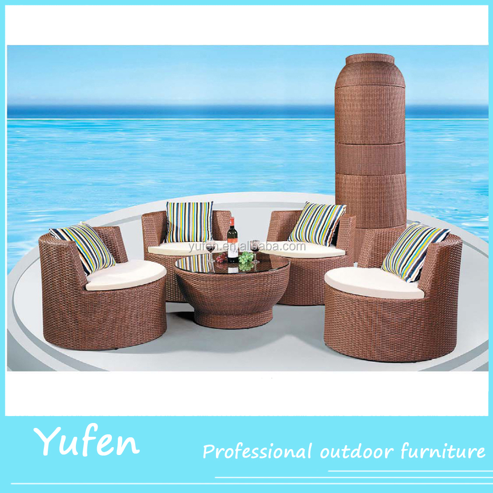 rattan wicker luxury big lots garden furniture YF3356