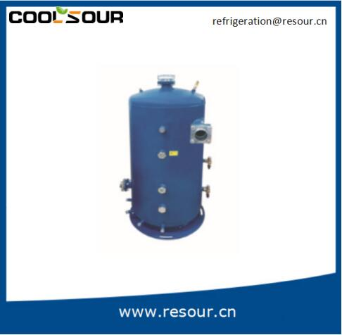 COOLSOUR Screw Compressor external Oil Separator for refrigeration system