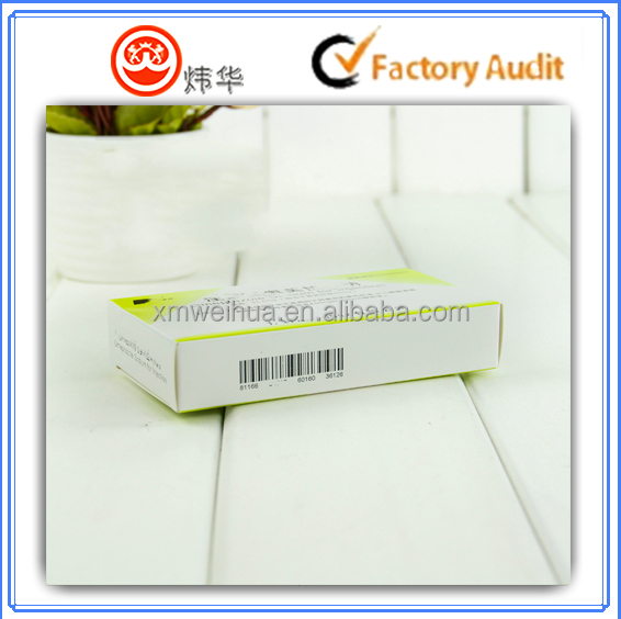 Custom printing art paper packing paper box for medicine