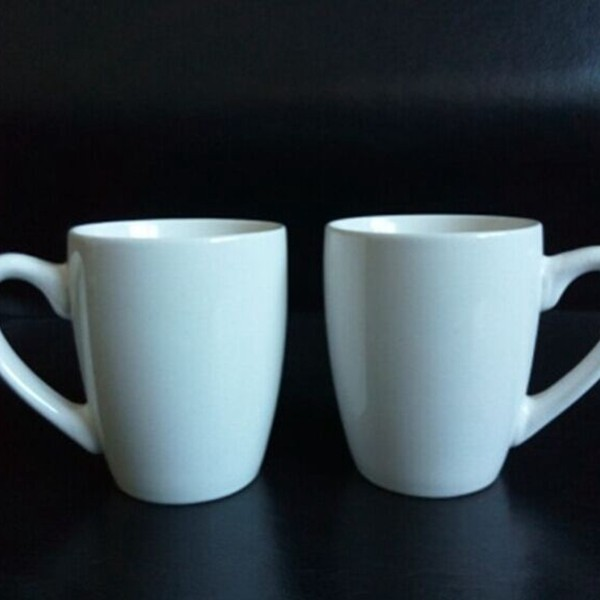 2017 Hot sale New technology ceramic white mug with handle in stock#62