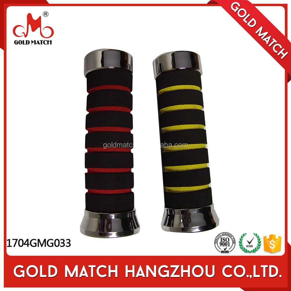 Hot sale injection molding handle color motorcycle grips