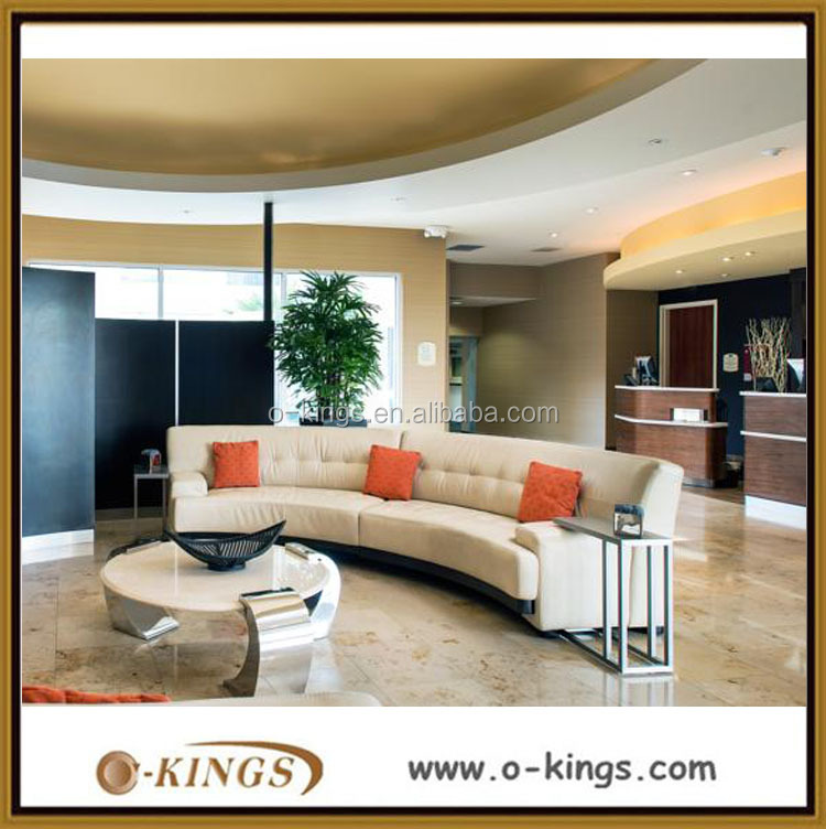 Modern design elegant hotel lobby furniture