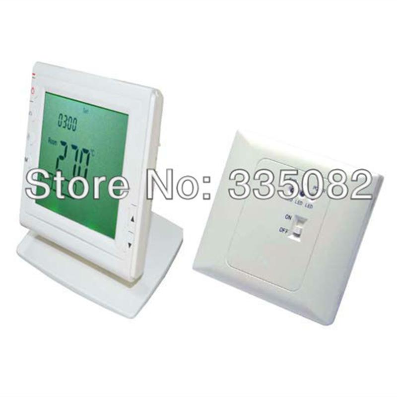 achetez en gros thermostat d 39 ambiance sans fil en ligne des grossistes thermostat d 39 ambiance. Black Bedroom Furniture Sets. Home Design Ideas