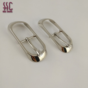2018 novel style egg shapezinc alloy custom made metal pin buckles