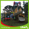 China Liben Commercial Plastic Used Children Park playground supplies
