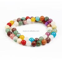 Rainbow Gemstone Beads, Mottled Beads,Colorful Nature Stone