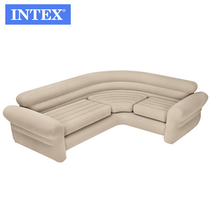 INTEX 68575 American Style White modern inflatable corner sofa