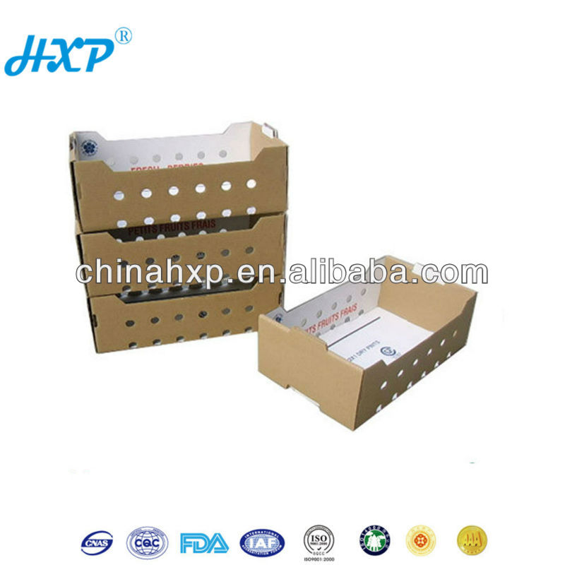 Cardboard box 3C 3-Layer A-Flute Offset Dipped Wax carton box