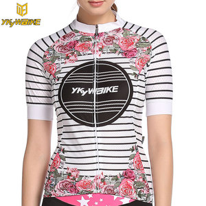 YKYWBIKE Women Pro Cycling Jersey 2019 Summer Cycling Shirts Maillot Ropa Ciclismo Bike Bicycle Clothing