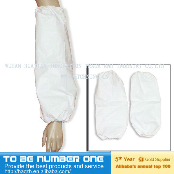 Anti-water SPP Mouw Cover/nonwoven arm cover/geweven arm sleeve cover