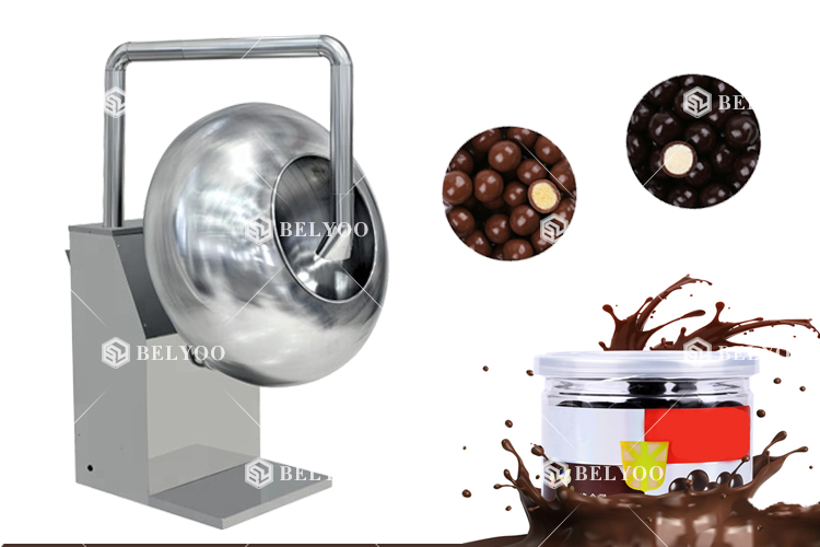 Nuts Sugar Coating Pan/Chocolate Coating Machine/Caramelized Sugar Making Machine