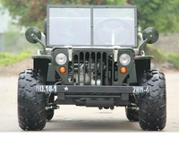 150cc,200CC hot mini jeep willys for wholesale
