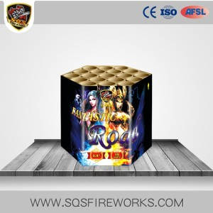 Wholesale 2017 new high quality CE cake fireworks shipping to Europe