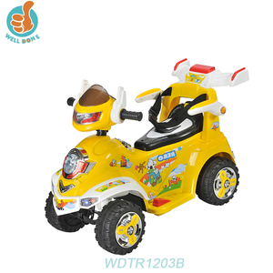 WDTR1203B New Plastic Kids Electric Motorcycle/6v Ride On Toy Children In Car Technology