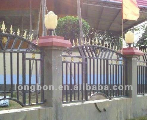 Top - vente moderne jardin clôture palisade clôture ...