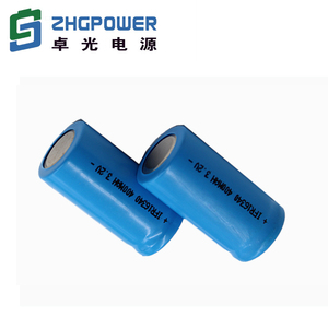 factory price rechargeable 3.2V 400mAh LiFePo4 battery 16340