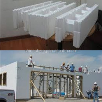 Advanced waterproof construction material icf block for for Icf blocks for sale