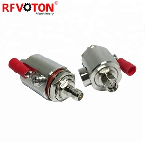 RP SMA Male To Female Connector Lightning Protector 3Ghz 90V Gas Discharge Tube RF Surge Arrestor