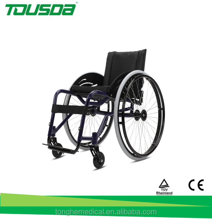 Aluminum and folding wheelchair manual wheelchair sport wheelchair