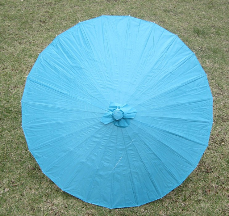 "Amazon hot sale handmade Chinese 33"" parasol paper umbrella as souvenir"