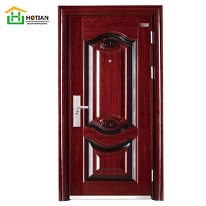 China standard stainless steel security door with lock design china factory supplier
