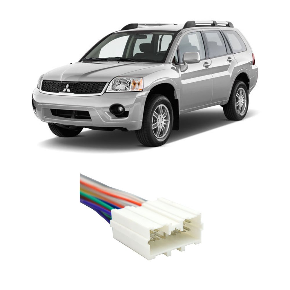 Cheap P0431 Mitsubishi Endeavor Find Wiring Harness 2006 Endevour Get Quotations 2004 2011 Factory To Aftermarket Radio Adapter