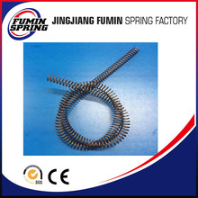 customized stainless steel long coil compression spring spiral retractable spring for parachute