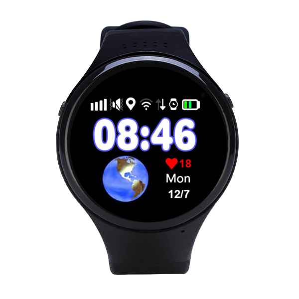 High quality touch screen smartwatch GSM WiFi GPS real time tracking SOS call no camera kids GPS watch