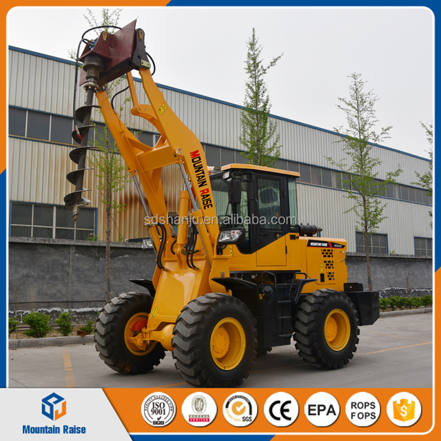 0.85m3 Bucket Wheel Loader with High Quality