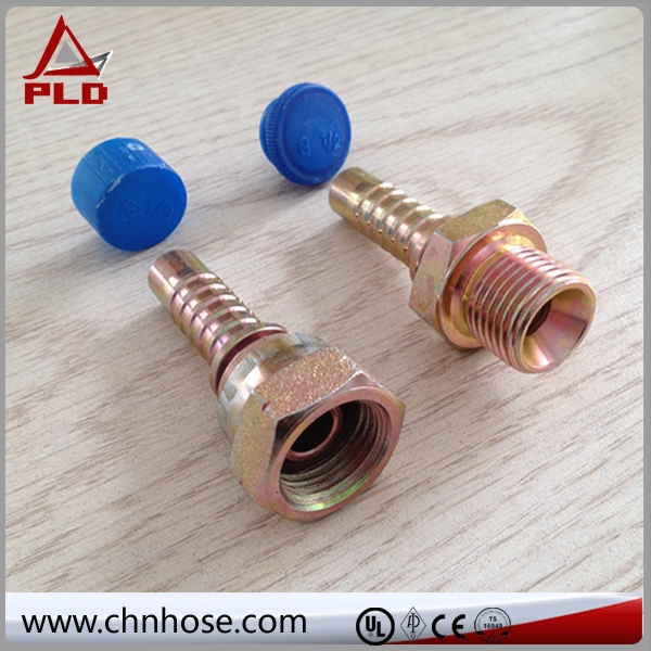 useful bsp male 60 degree cone straight fitting