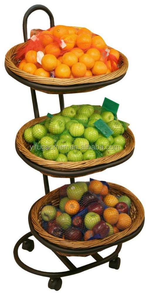 Lovely 3 Tier Wicker Fruit Basket Stand, 3 Tier Wicker Fruit Basket Stand  Suppliers And Manufacturers At Alibaba.com