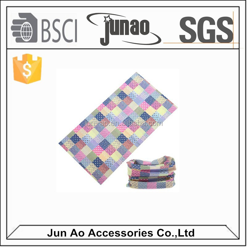 China supplier warm wool material seamless tube multifunctional headwear