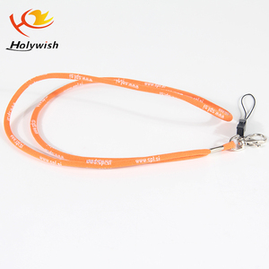 Custom different kinds silicone rubber lanyard for teenagers concert