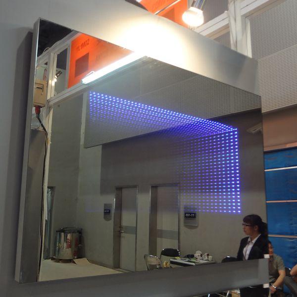 New Elegance Vertically Luminous Illuminated Bathroom Mirrors ...