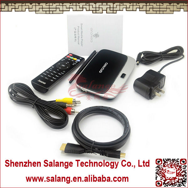 2014 NEW DESIGN <strong>Business</strong> Smart TV Box 5.0MP Camera Android4.0 Smart Tv Box With Root Quad Core and HQ MIC for Meeting By Salange