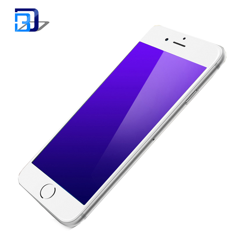 9H anti blue light eyes protect mobile phone nano anti shock screen protector for iPhone 6 6plus