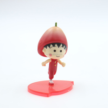 Custom miniature figures anime action toy OEM 3D tiny figures with ABS base