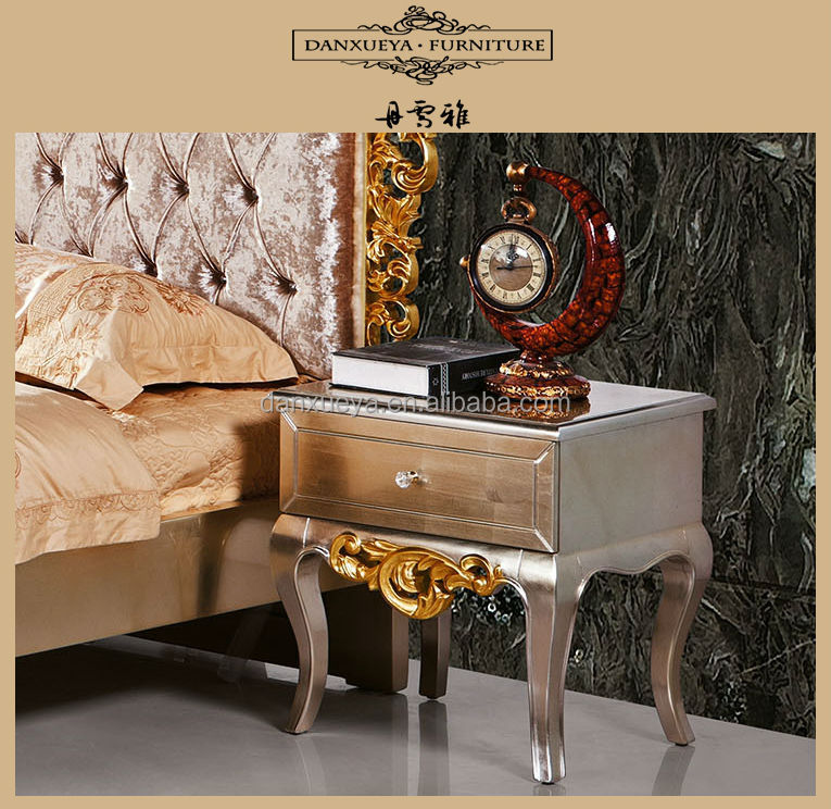 Danxueya Luxury Bed Frame Design Furniture Wooden /antique Bedroom Vanity