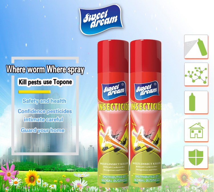 SWEET DREAM Insecticide spray , Aerosol insecticide spray chemical formula insecticide China supplier
