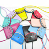 cell phone neck hanging bag cell phone bag mobile phone carry bag Wholesales R-201601