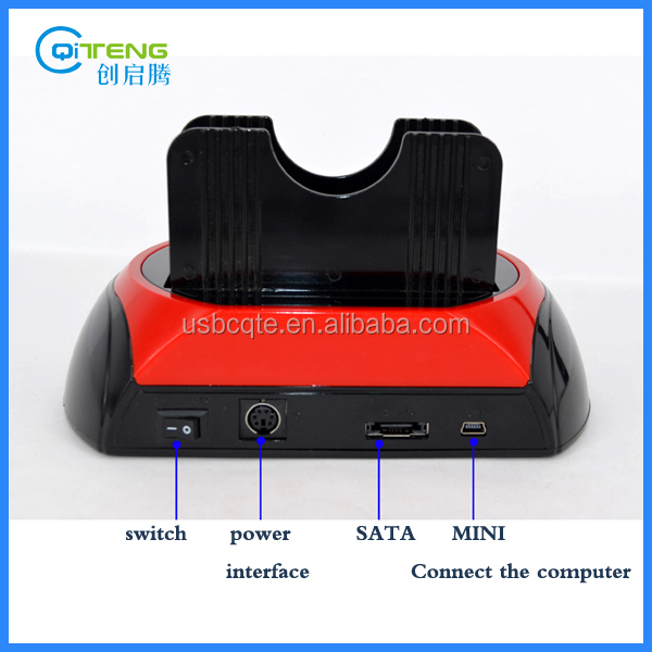With Card Reader And USB Hub 3.0 High-Speed All In One SATA/IDE Hdd Base