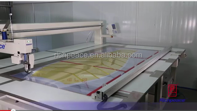 Richpeace Automatic Industry Sewing Machine for large area sewing