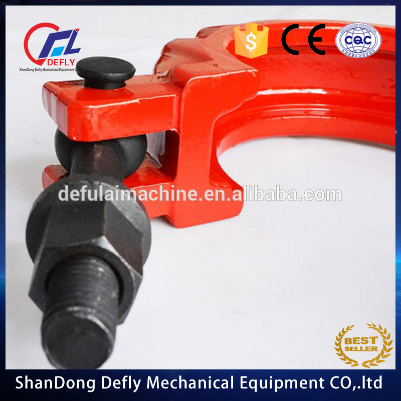 Chinese original putzmeister dn125(5.5'') concrete pump clamp on sale