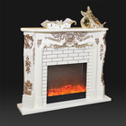 Indoor gas fireplace insert marble mantel stoves for sale