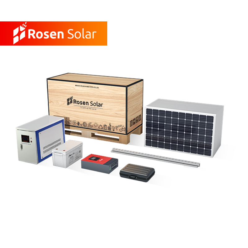 Complete Solar Power System 20KW Off Grid PV Systems Roof Installation