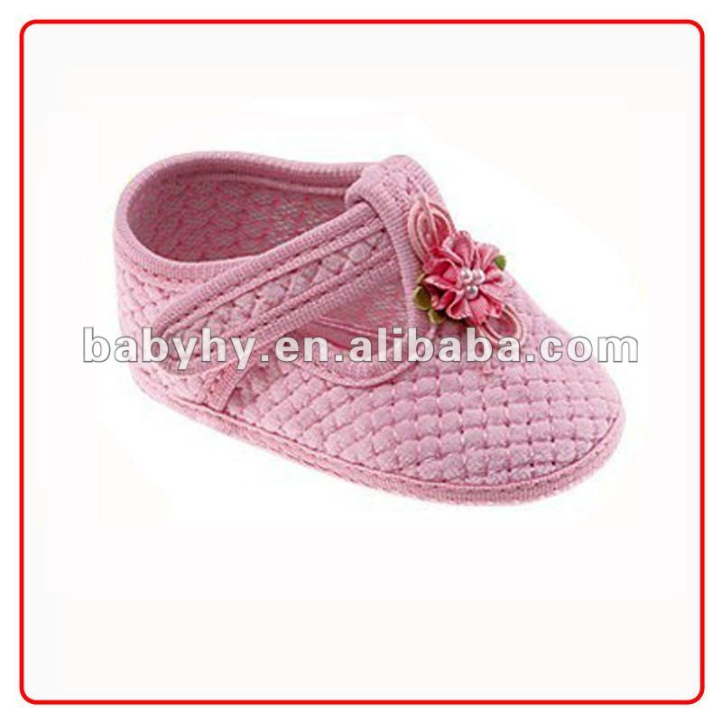 Lovely pink organic toddler baby tennis shoes for kid